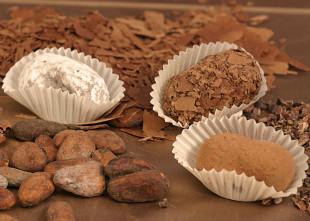 Truffes assorties en chocolat