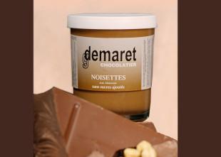 Pâ‰te ˆà tartiner au chocolat et noisettes sans sucres ajoutŽés