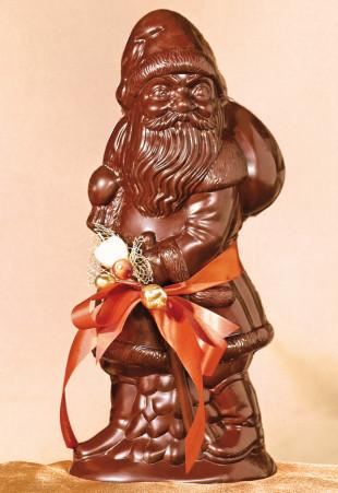Père Noë'l en chocolat