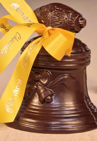 Cloches de Pâques en chocolat