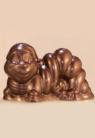 Figurine creuse en chocolat garnie ou non