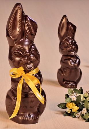 Lapins de Pâques en chocolat