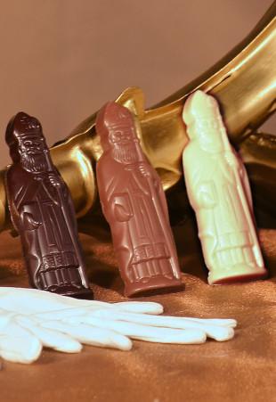 Saint-Nicolas fourrŽés en chocolat assorti