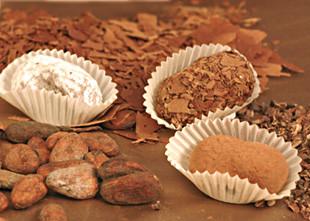 Truffes en chocolat assorties